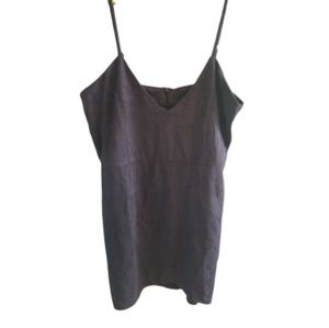 || MISSGUIDED || Petite Size 8 Deep Grey Tank Top